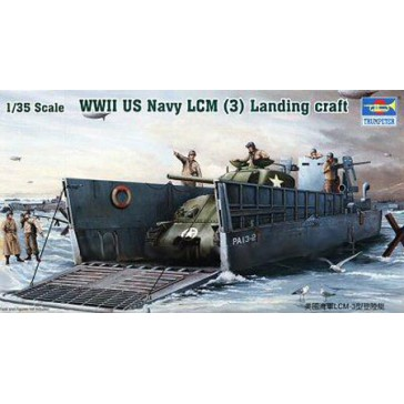 WWII US Navy LCM 1/35