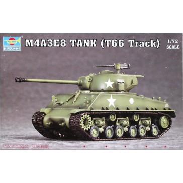M4A3E8 Tank T66 Track1/72