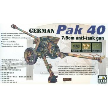 Pak 40 76mm Gun 1/35