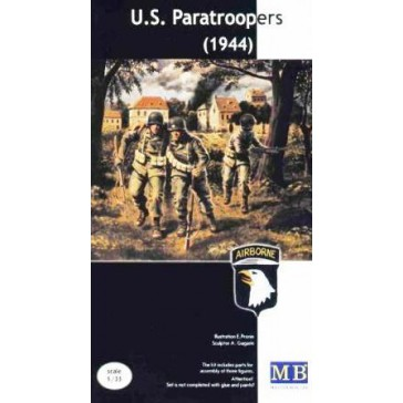 """""""US paratroopers (1944)"""" 1/35"""