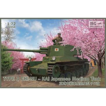 Type 3 Chi-Nu KAI Jap. Medium 1/72