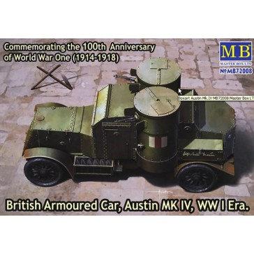 Brit. Arm. Car Austin MkIV 1/72