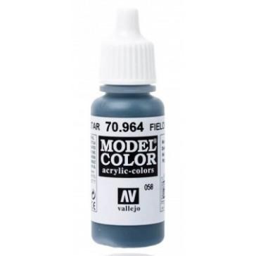 Acrylic paint Model Color (17ml) - Matt Field Blue
