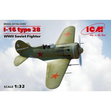 I-16 Type 28 WWII Soviet Fight.1/32