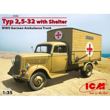 Type 2,5-32 Ambulance 1/35