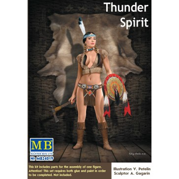 Pin Up Serie - Thunder Spirit 1/24