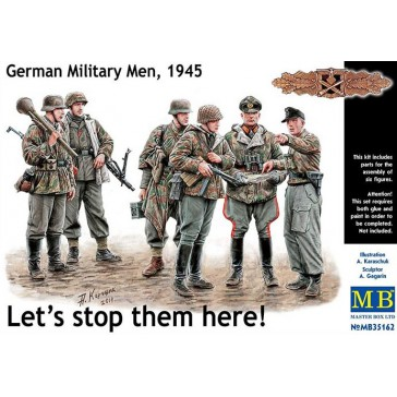 """Let's stop them here! Germ'45 1/35"