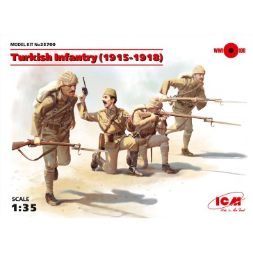 Turkich Infantry (1915-1918) 1/35