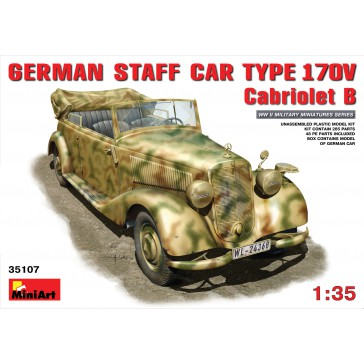 German Staff Car 170V Cabr. 1/35