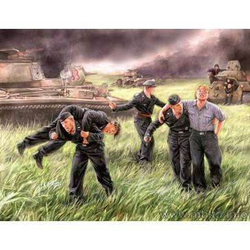 German Tank Crew Kursk '43 1/35