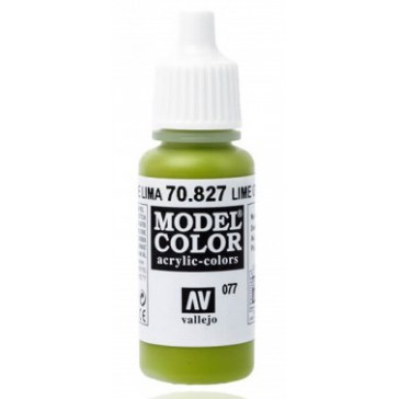 Peinture Acrylique Model Color (17ml) - Matt Lime Green