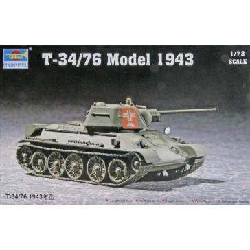 T-34/76 Mod. 43 1/72
