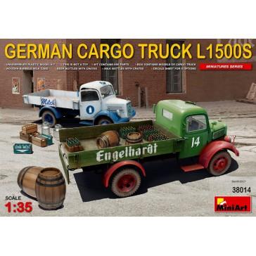 German Cargo Truck L1500S Type 1/35