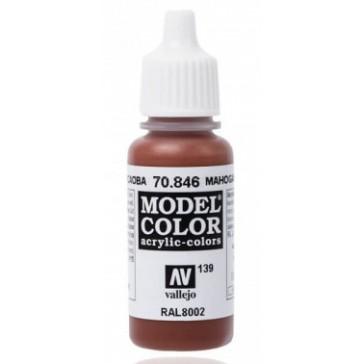 Acrylic paint Model Color (17ml) - Matt Mahogany Brown