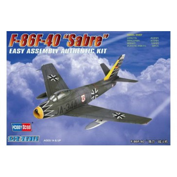 F-86F-40 'Sabre' Fighter 1/72