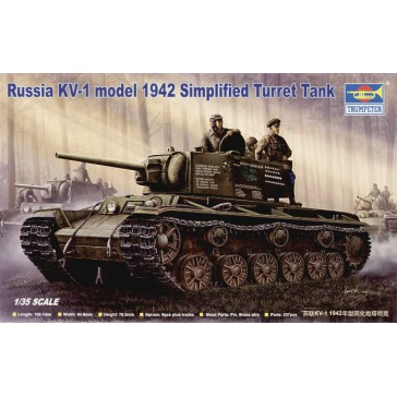 KV-1 Mod.42 Simp. T. 1/35
