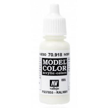 Peinture Acrylique Model Color (17ml) - Matt Ivory