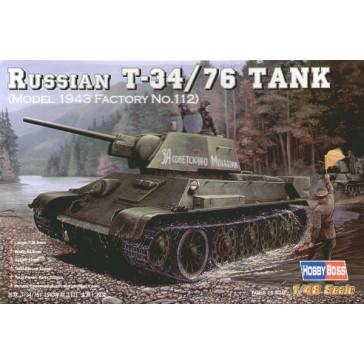 Russian T-34/76 '43 No.112 1/48