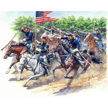 8th Pennsylvania Cavalry Reg1/35