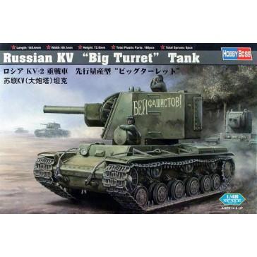 Russian KV Big Turret Tank 1/48