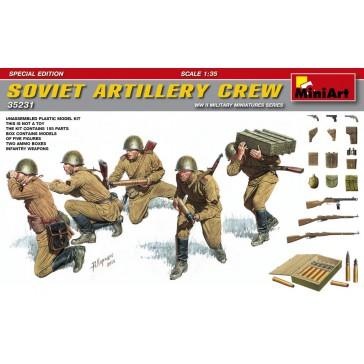 Sov.Artillery Crew Special Ed. 1/35