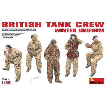British Tank Crew Wint.1/35