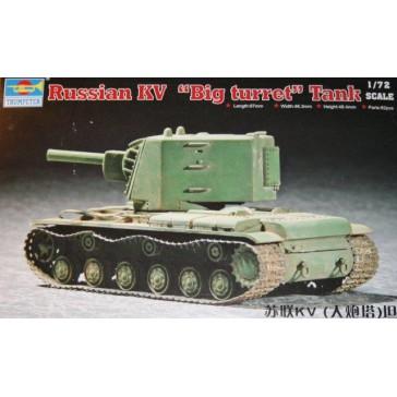 KV-2 Big Turret Tank 1/72