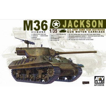 M36 Jackson US 90 mm Tank 1/35