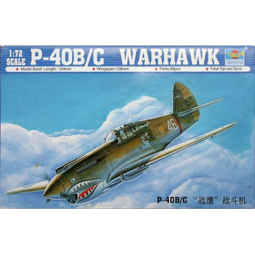 P40B/C Warhawk 1/72