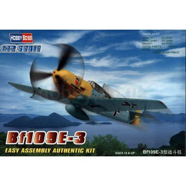 Bf109E-3 Fighter 1/72