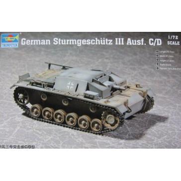 German Stug III C/D 1/72
