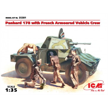 Panhard 178 with French Armour.1/35