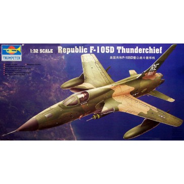 Trumpeter Trumpeter 1 32 Republic F 105d Thunderchief Mcm Group