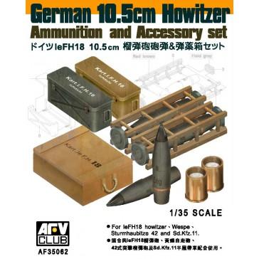 10.5cm Howitzer Ammo & Acc 1/35