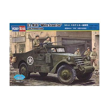 M3A1 Scout Car White Late prod.1/35