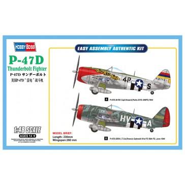 P47D Thunderbolt Fighter 1/48