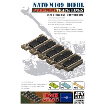 Workable Tracks for M109 NATO 1/35