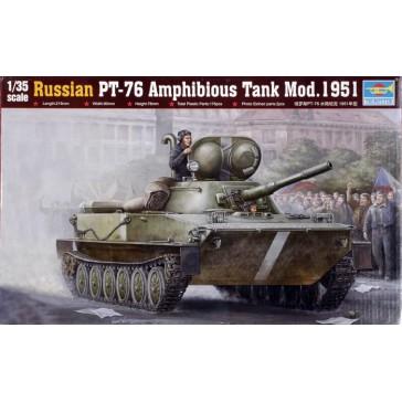 Russian PT76 Amphib. 1/35