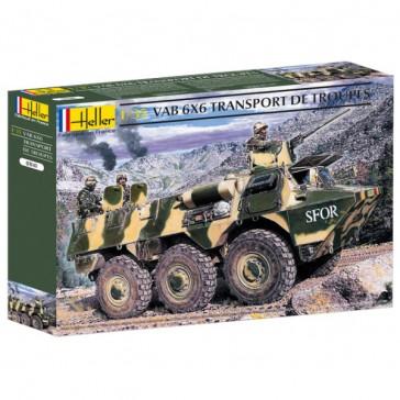Vab 6X6 Transport De Troupes 1/35