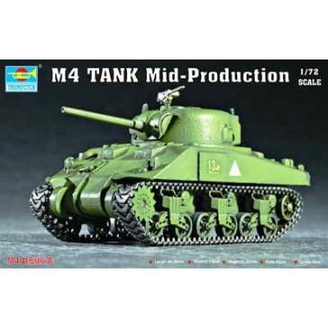 US M4 (Mid) Tank 1/72