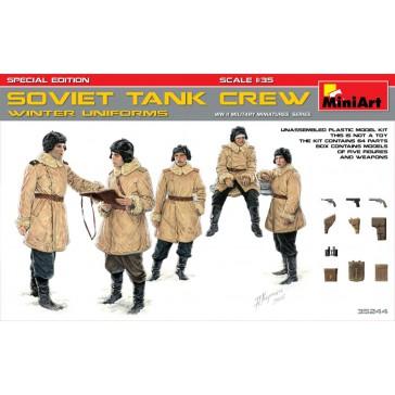 Soviet Tank Crew Winter 1/35
