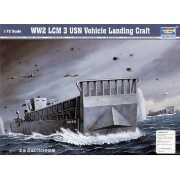 WWII US Navy LCM(3) 1/72