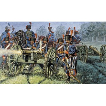 FRENCH ARTILLERY (NAP.WARS) 1:72