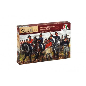 BRITISH & PRUSSIAN GENERAL STAFF 1:72