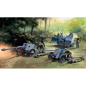 GERMAN GUNS PAK35PAK40FLAK38 1:72