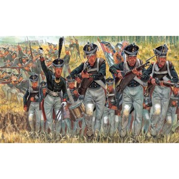 NAPOLEONIC W. RUSSIAN INFANTRY 1:72