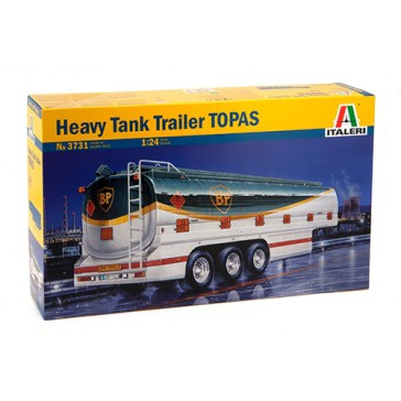 HEAVY TANK TRAILER TOPAS 1:24