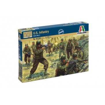 WWII AMERICAN INFANTRY 1:72