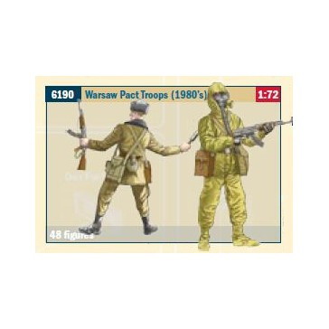 WARSAW PACT TROOPS (1980S) 1:72 *