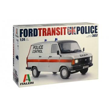 FORD TRANSIT UK POLICE 1:24